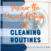 Use these powerful cleaning routines to keep your house clean all of the time!