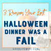 Great tips on having a successful Halloween with your family!