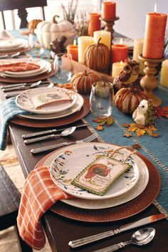Set a beautiful Thanksgiving table this year.