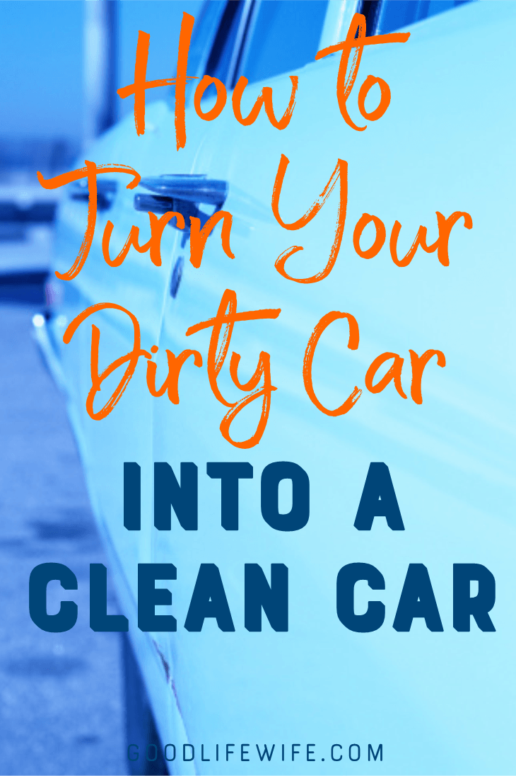 How to Turn Dirty Cars Into Clean Cars is full of tips on how to get, and keep, your ride clean! My free, printable Cleaning Bundle will make it a breeze.