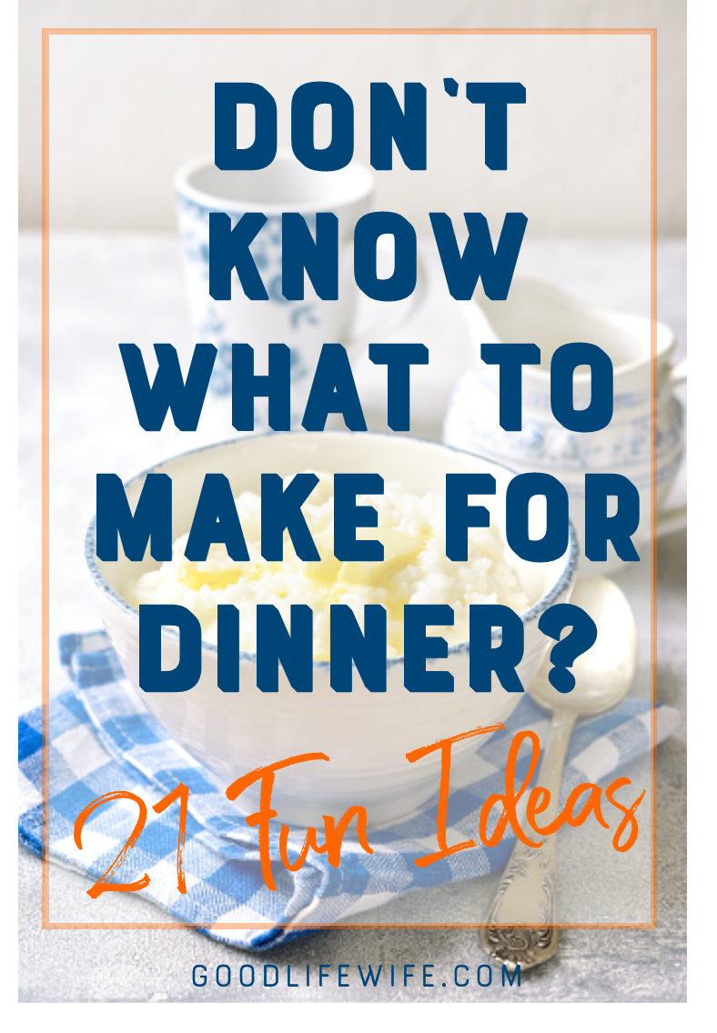 Use theme nights to make simple and creative meal plans so you'll always know what's for dinner!