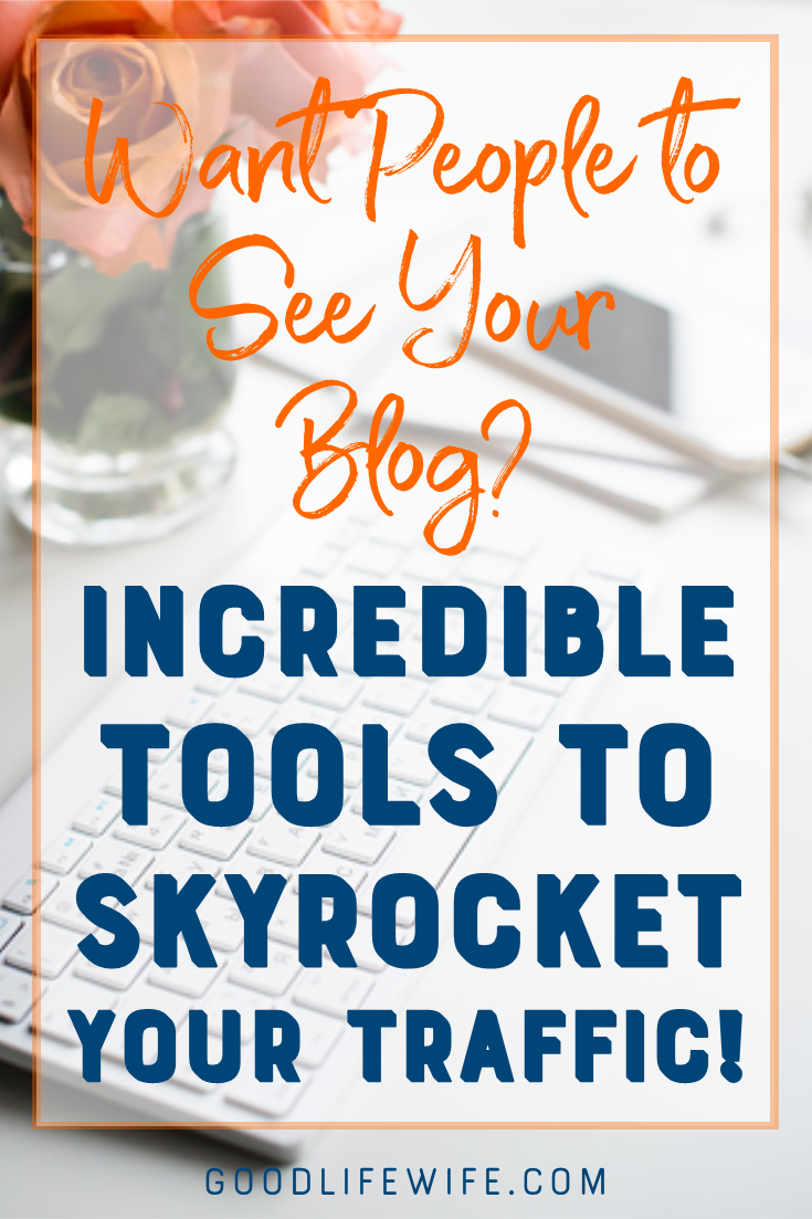 Resources to help grow your blog traffic by leaps and bounds!