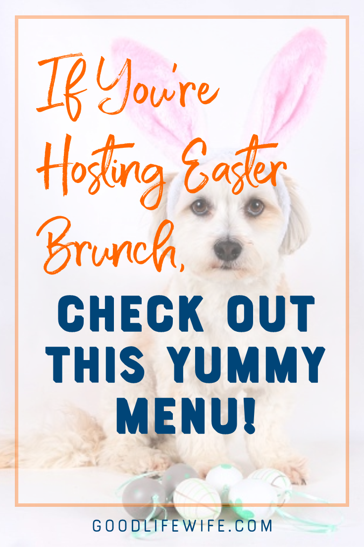 How to plan a yummy Easter brunch menu! Tips on setting a pretty table and hosting a lovely family meal.
