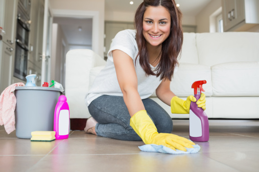 How to give up spring cleaning for good. Tips on keeping your home clean, organized and tidy every day so you don't have to spend hours at a time deep cleaning.
