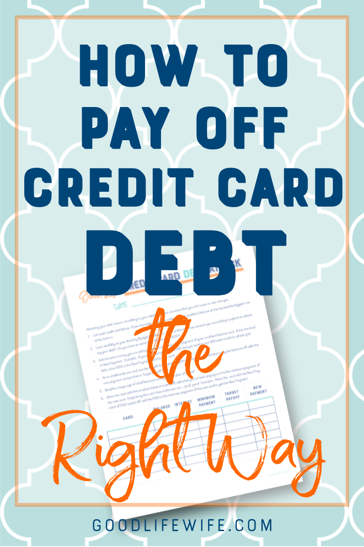 Attack credit card debt with the snowball method. Tips to help you stay on track and a free, printable worksheet!