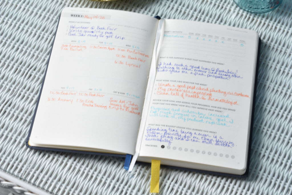 Learn how to use a planner effectively. Great tips for moms on organizing a busy life and tracking goals, projects and habits.