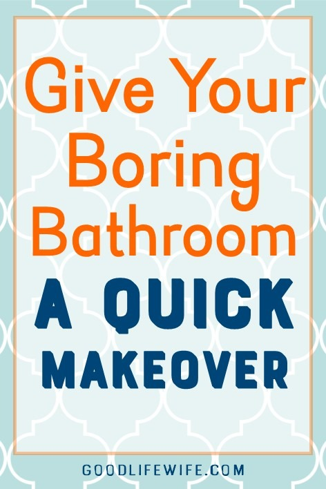 Give your boring bathroom a quick, easy refresh. This mini makeover is cheap and has a free printable!